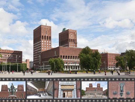 Oslo City Hall in central Oslo