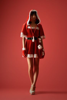 Mysterious Christmas girl
