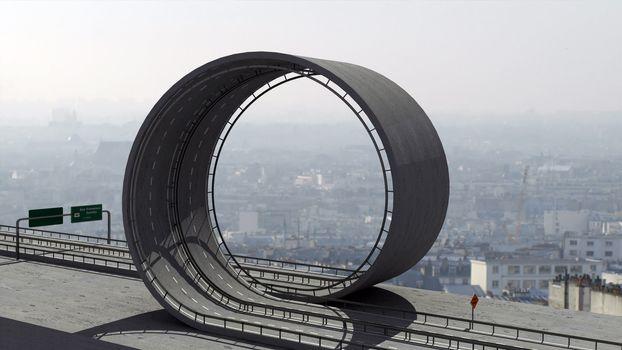 Freeway loop