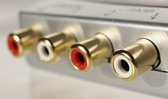 RCA phono sockets