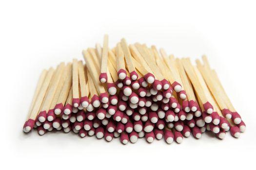 Pile of Match Sticks