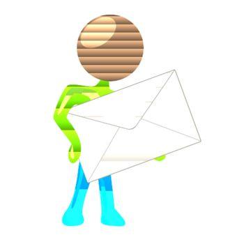 Mailing humanoid