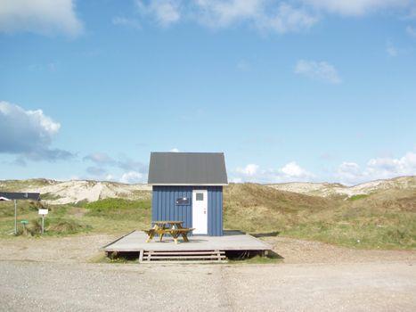 Beachhouse in denmark