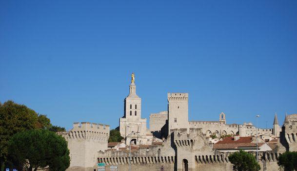 Center of Avignon, Provence France