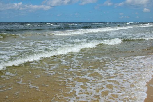 Coastline - somewhere on the beach