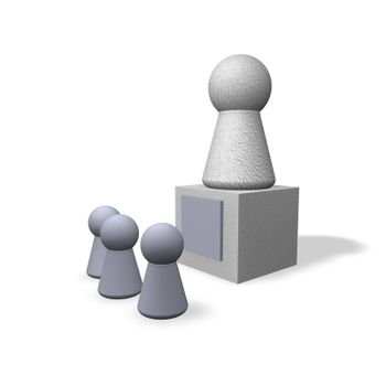 play figures viewers and monument