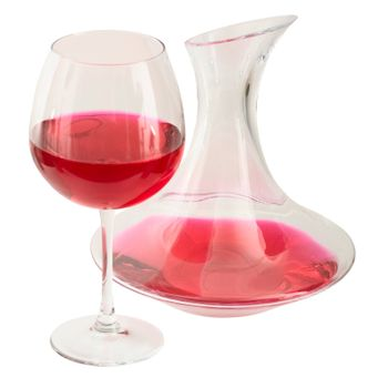 Decanter and goblet