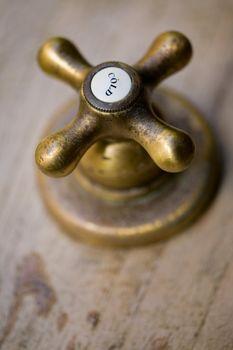 Vintage cold tap