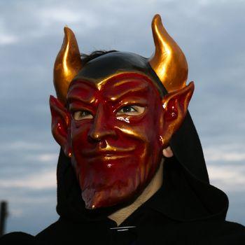 Devil at the Venice Carnival