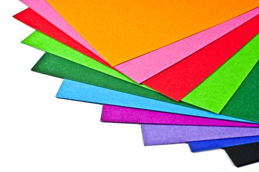 Colored paper.