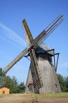 Old windmill from Poland (Wdzydze)