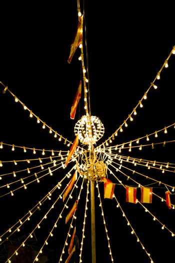Lights festivities of Spain