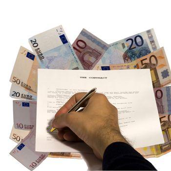 Contract on money