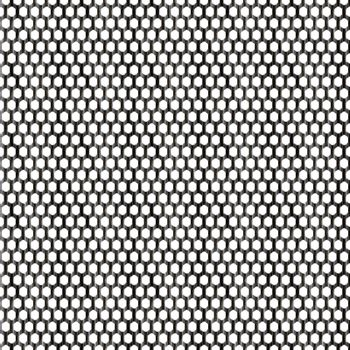 Steel wire mesh that tiles seamlessly as a pattern.