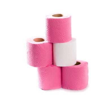 five toilet paper rolls