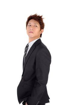 Proud young executive