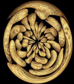 peanuts swirl