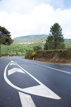 painted asphalt