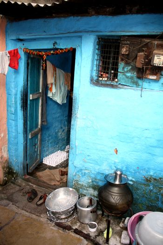 Slum House Entrance