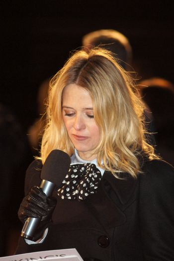 Edith Bowman At The King's Speech Premiere In Central London 21 October 2010
