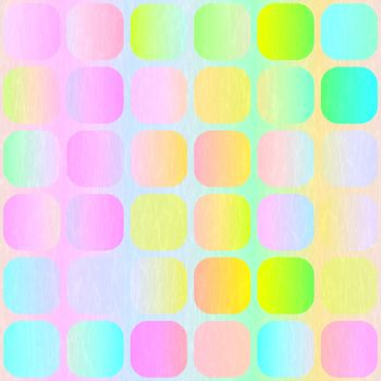 vibrant pastel colored blocks with light woven imprint