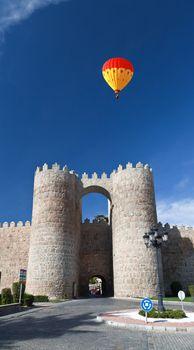 The Medieval city Avila near Madird, Spain