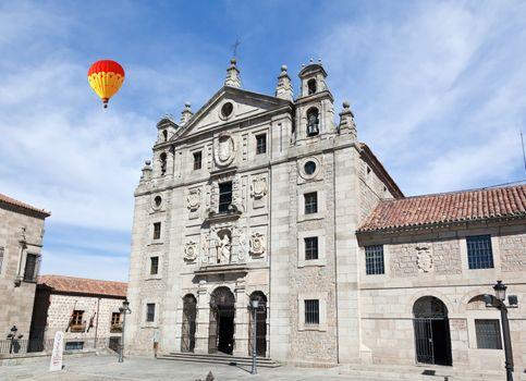 the Church of St Teresa of Avila, Spain
