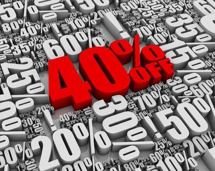 Sale 40% Off!