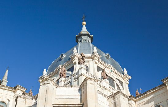 The Cathedral of Almudena in Madrid, Spain