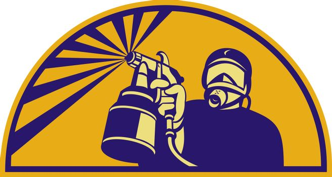 Automotive spray painter
