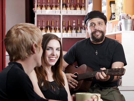 Coffee House Musician