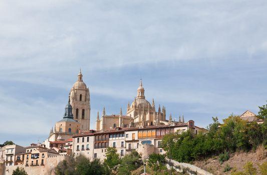 Segovia cathedral, World Heritage town Segovia, Spain