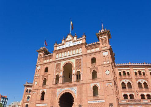 Famous bullfighting arena - Plaza de Toros in Madrid
