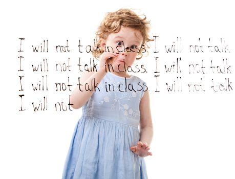 I Will Not Talk In Class