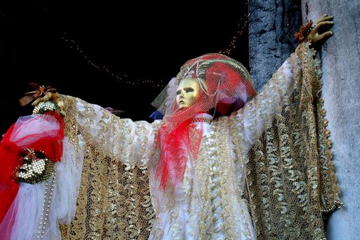A masked man, Piazza San Marco