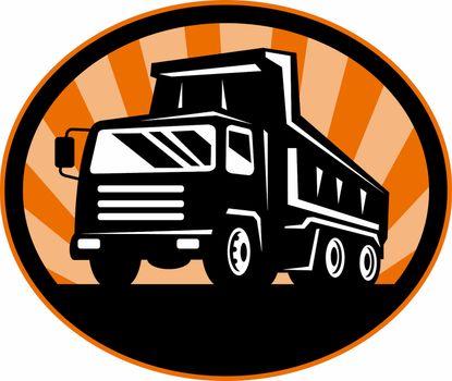dumper dump truck or lorry