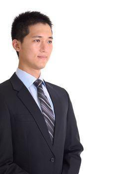 Oriental businessman