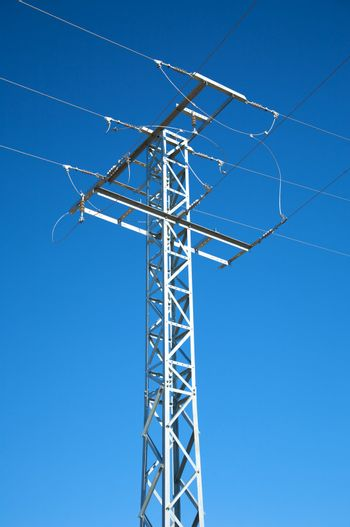 electricity metal tower