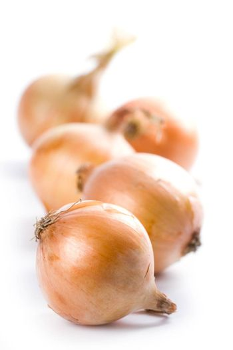 five ripe onions