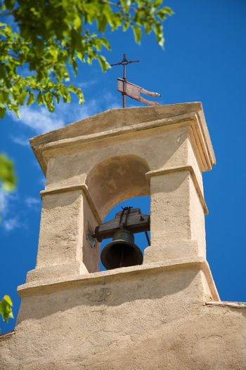 bell tower of small chapel