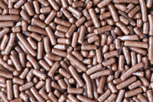 Close Up of Chocolate Sprinkles