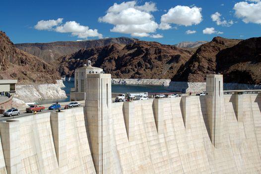Hoover Dam on Lake Mead Las Vegas