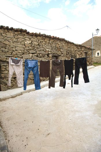 street drying place