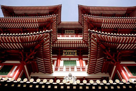 Buddhist Temple Detail