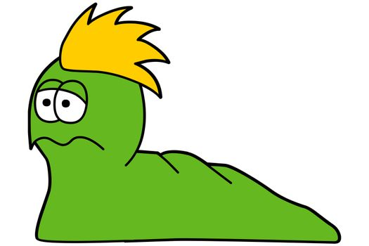 comic worm