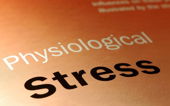 physiological stress and health-care concept