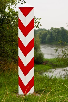 Polish Boundary Post