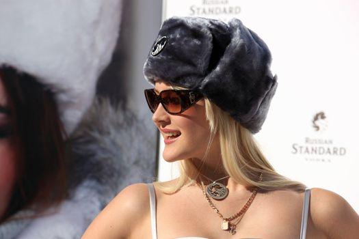 Miss Russia finalists 2008 in St. Moritz