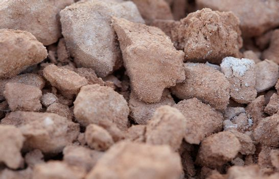 Clay - raw material of pottery production