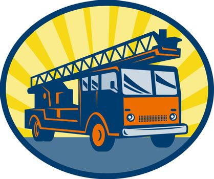 Fire truck or engine appliance